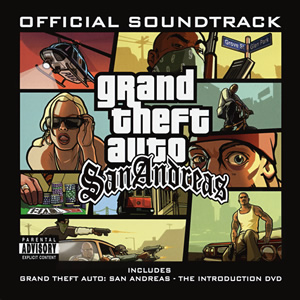 Grand Theft Auto San Andreas (2CD+DVD) - 2Pac, James Brown, Cypress Hill, Faith No More, Heart, Publ